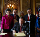 Governor, lawmakers express support for the civil liberties of immigrants